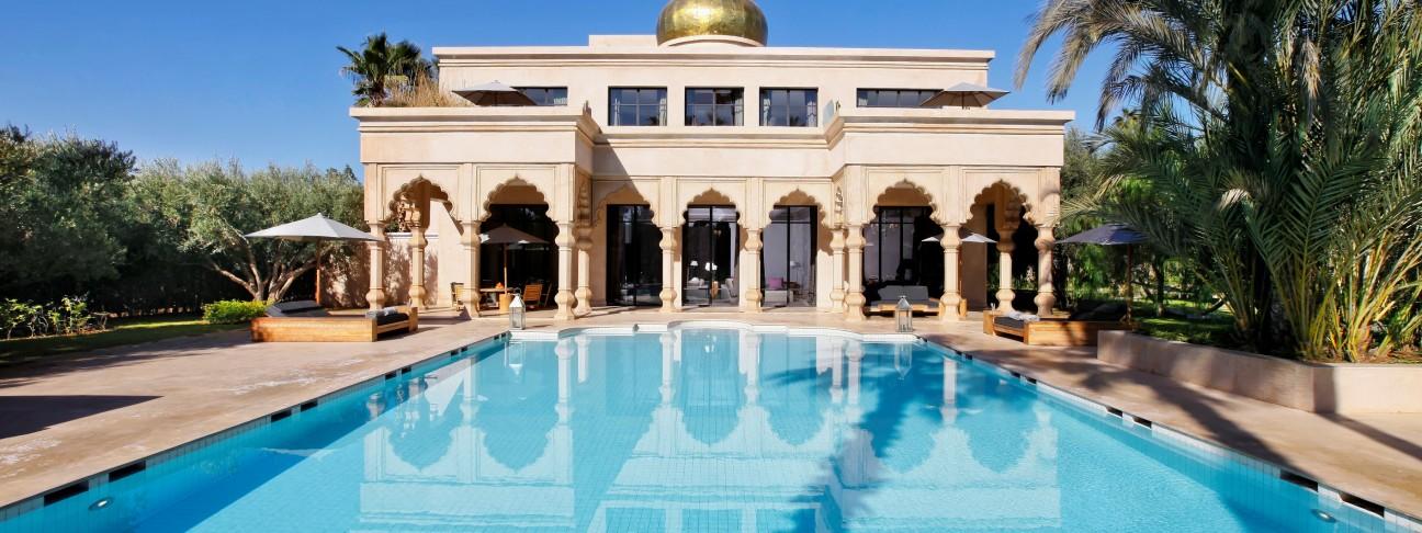Palais Namaskar hotel – Marrakech – Morocco