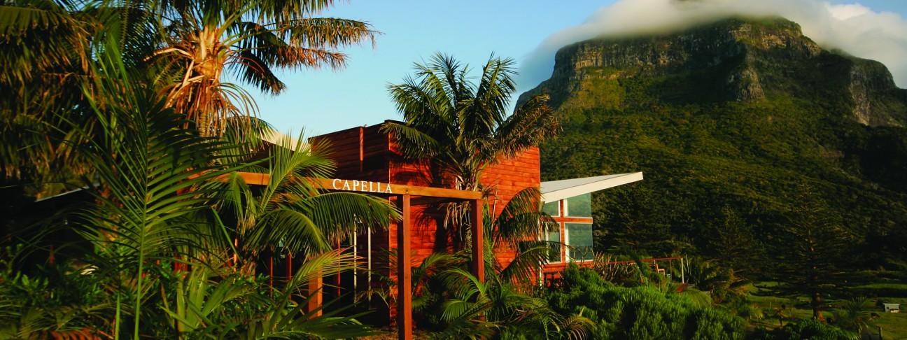 Capella Australia  City new picture : Capella Lodge hotel Lord Howe Island Australia