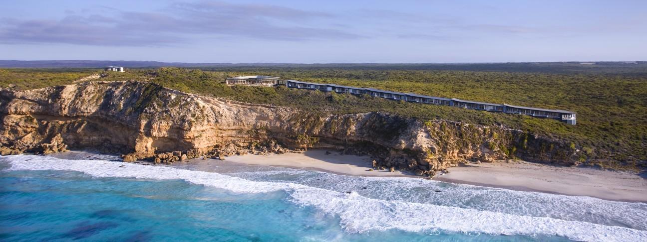 Southern Ocean Lodge hotel – Kangaroo Island – Australia